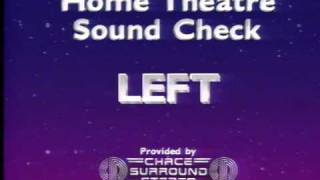 Home Theatre Sound Check Chace Surround Stereo