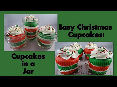 Easy Christmas Cupcakes- with yoyomax12