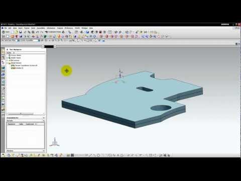 NX Tips & Triks: Import/Export DWG/DXF files