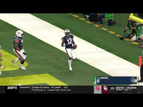 Auburn University Sports - Auburn Football vs Oregon Highlights