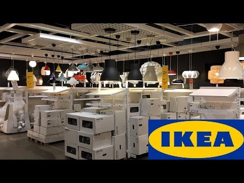 ikea-lighting-lights-lamps-home-decor---shop-with-me-shopping-store-walk-through-4k