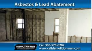 Miami Beach Demolition Company | Demolition Man LLC
