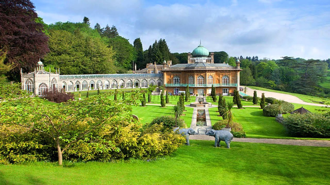 Sezincote House & Garden Moreton-in-March Gloucestershire - YouTube