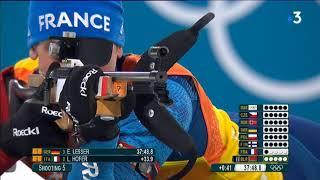Le sacre des Français sur le relais de biathlon