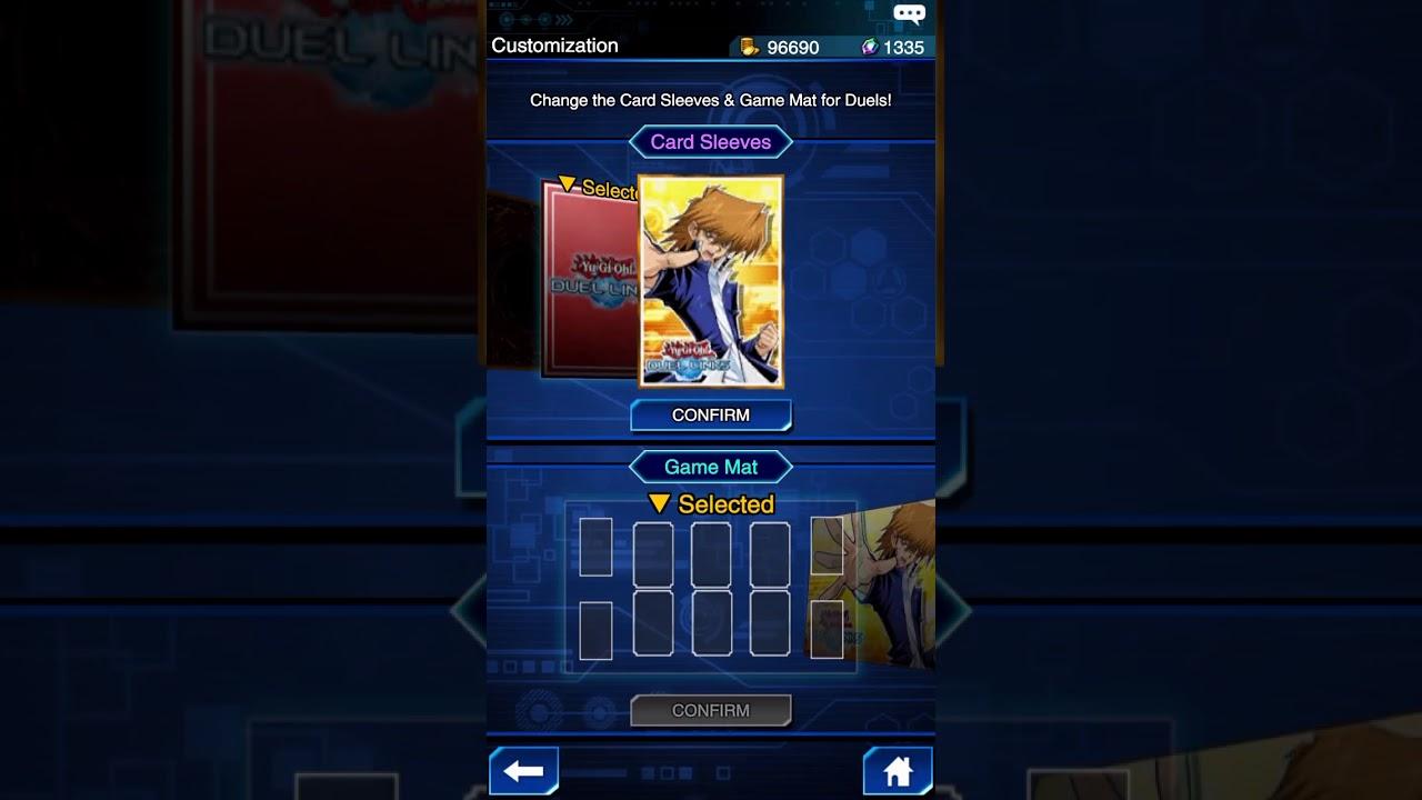 Yu Gi Oh Duel Links Change Card Sleeves