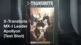 Transformers Review: X-Transbots MX-I Leader Apollyon (Production Sample)