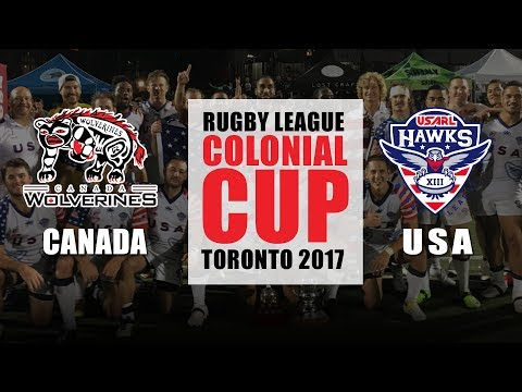 USA vs Canada - HIGHLIGHTS 2017 Colonial Cup & 2017 Rugby League Americas Championship
