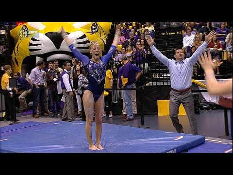Florida Gymnastics: Alex McMurtry Perfect 10 Vault 3517