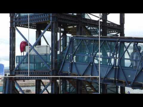 HMS Queen Elizabeth under construction at Rosyth Dockyard in Scotland