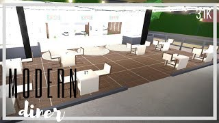 Modern Cafe 31k - SUPER CHEAP + NO GAMEPASS | Roblox Bloxburg