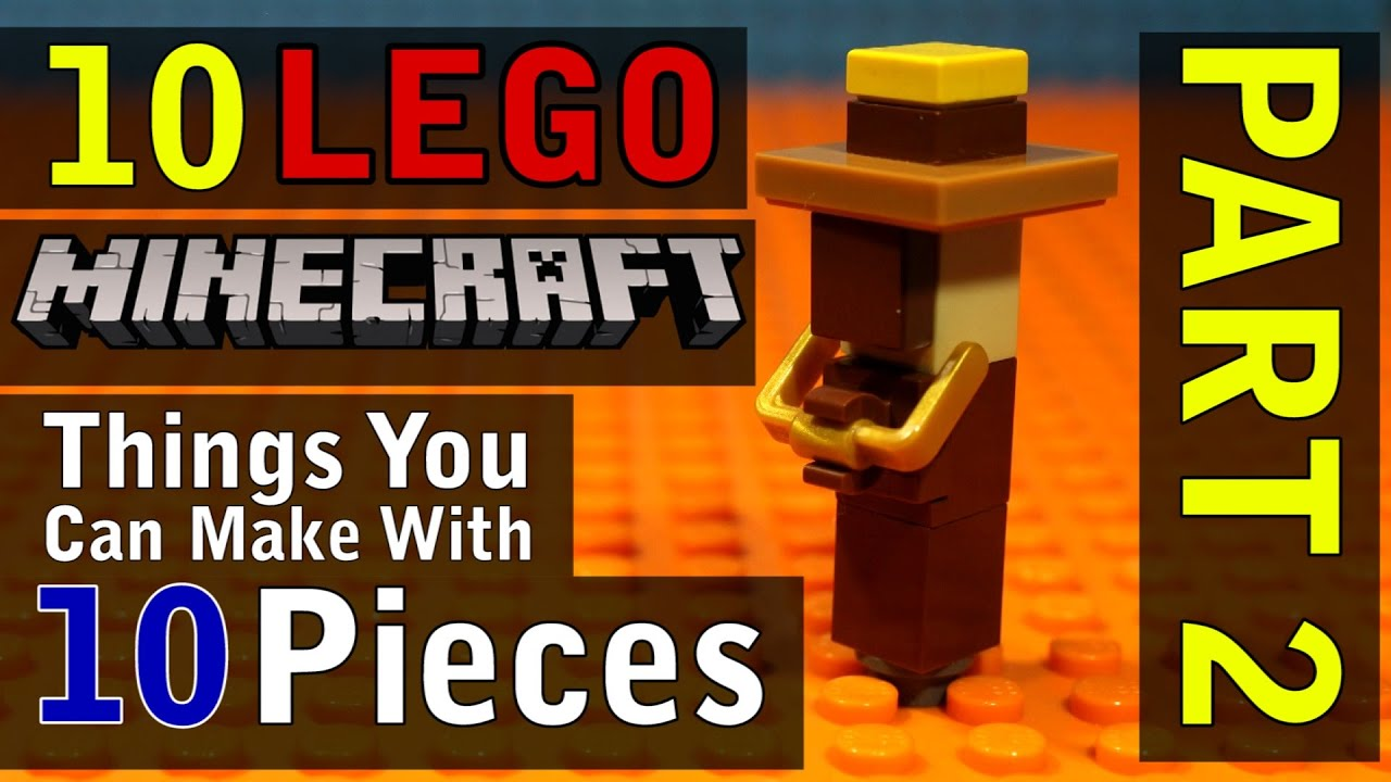 Download 10 Minecraft Things You Can Make With 10 Lego Pieces (Part 2)