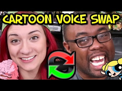 CARTOON VOICE SWAP – Impressions Challenge ft. Brizzy Voices
