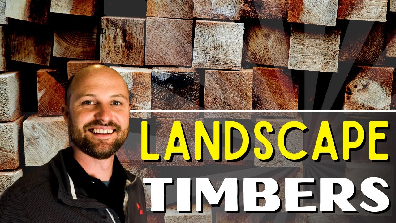 landscape timbers scooter lawn