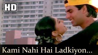 Kami Nahi Ladkiyon Ki - Akshay Kumar - Mamta Kulkarni - Sunil Shetty - Waqt Hamara Hai Songs