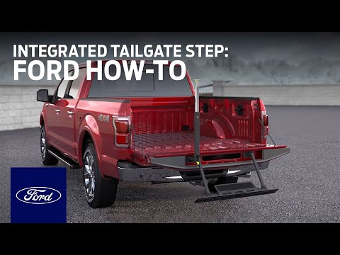Integrated Tailgate Step | Ford How-To | Ford