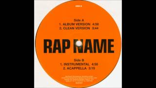 Obie Trice - Rap Name (Instrumental) (2002) [HQ]