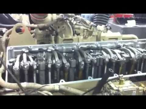 Cummins ISM running with valve cover off