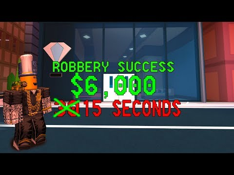 HOW TO ROB THE JEWELRY STORE IN HALF THE TIME! (Roblox Jailbreak)