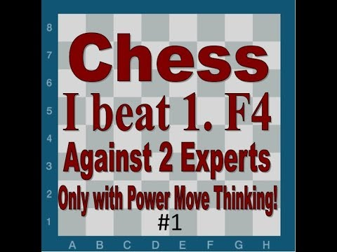 I Beat Two Chess Experts Against 1.f4