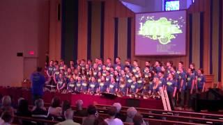 """Be Not Afraid"" - Taylor Davis - GPC Exultation Youth Choir - Home Concert- Choir Tour 2012"