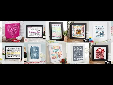 How to Create Typographic Wall Art with Words Instruction Video by Chatterbox Walls