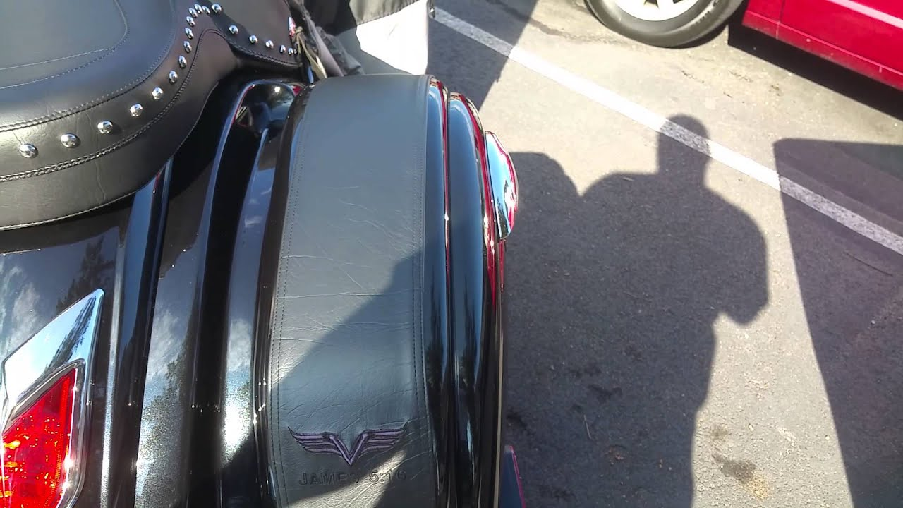 Kawasaki Vaquero Saddle Bags