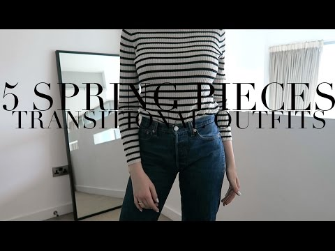 5 Items For Spring Fashion   Transitional Outfits