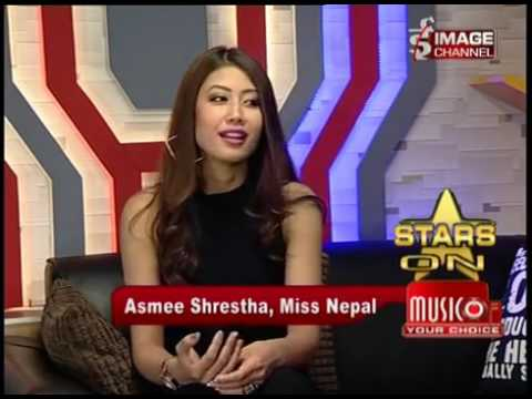 Stars On Music of Your Choice -Interview with Asmi Shrestha  Miss Nepal 2016