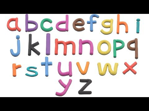 Play Doh ABC | ABC | Learn Small Alphabets with Play Doh | ABC Phonics Song | A to Z for Kids