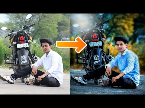 DSLR Effect || HDR || How to Change Normal Photos Into High Quality Photos || CB Editing Tutorial