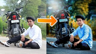 DSLR Effect    HDR    How to Change Normal Photos Into High Quality Photos    CB Editing Tutorial
