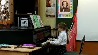 Открытый урок фортепиано