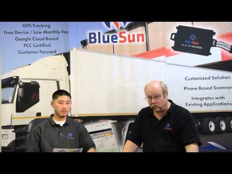 f61a3b1b1f2 BlueSun Solutions - Truck Tracking - YouTube