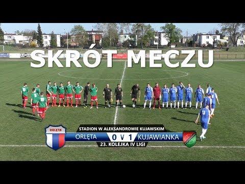 Skrót meczu Orlęta - Kujawianka Izbica Kujawska 0:1 // 23. kolejka IV ligi