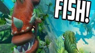 Fish.Io новая игра про рыб в 3D!!!