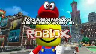 Top 3 super Mario Odyssey-like games on ROBLOX!