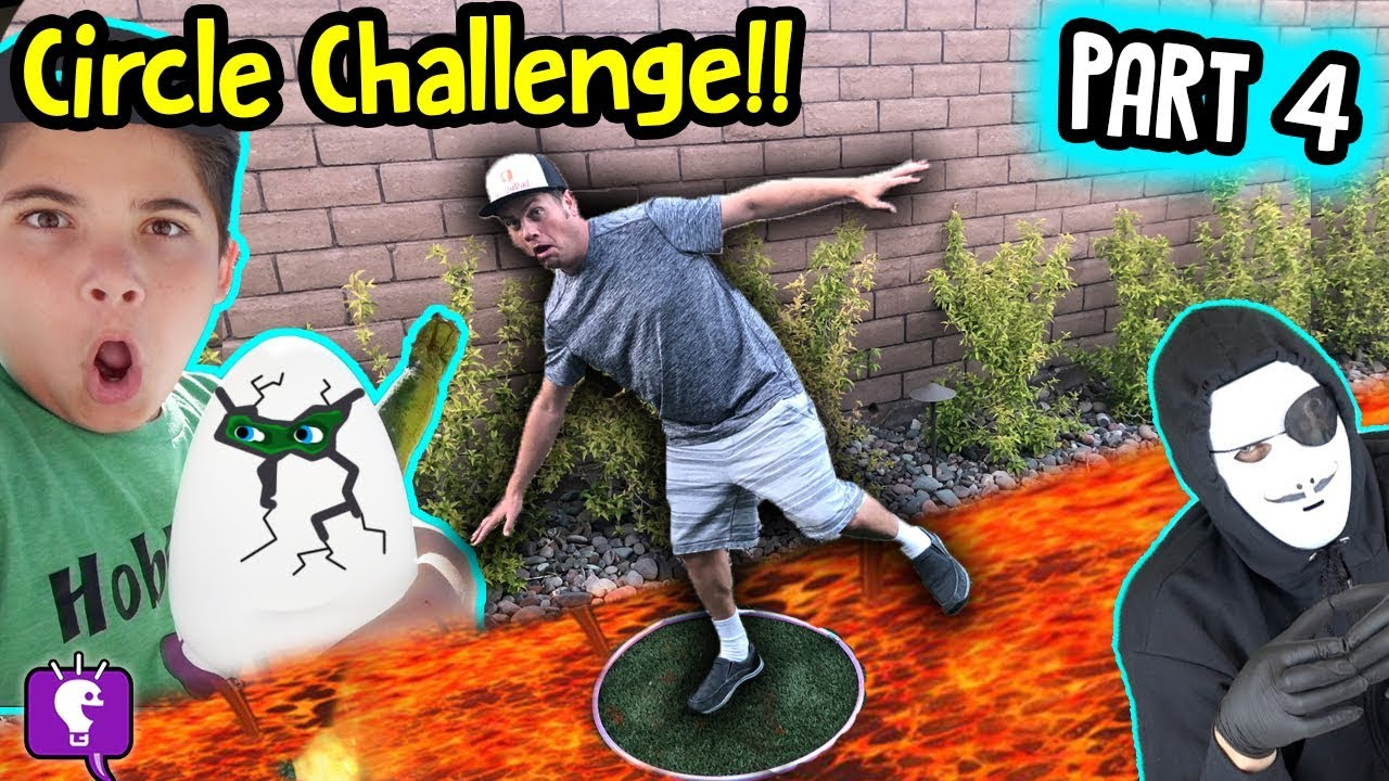 24 HRS in CIRCLE Challenge! Game Master Mystery Part 4 by HobbyKidsTV