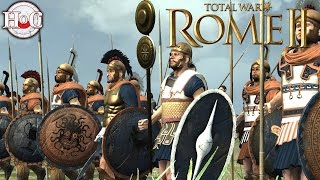 Cimmeria Vs Egypt - Total War Rome 2 Online Battle Video 391