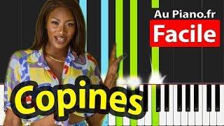Aya Nakamura - Copines - Piano FACILE Tutorial - (PAROLES LYRICS)