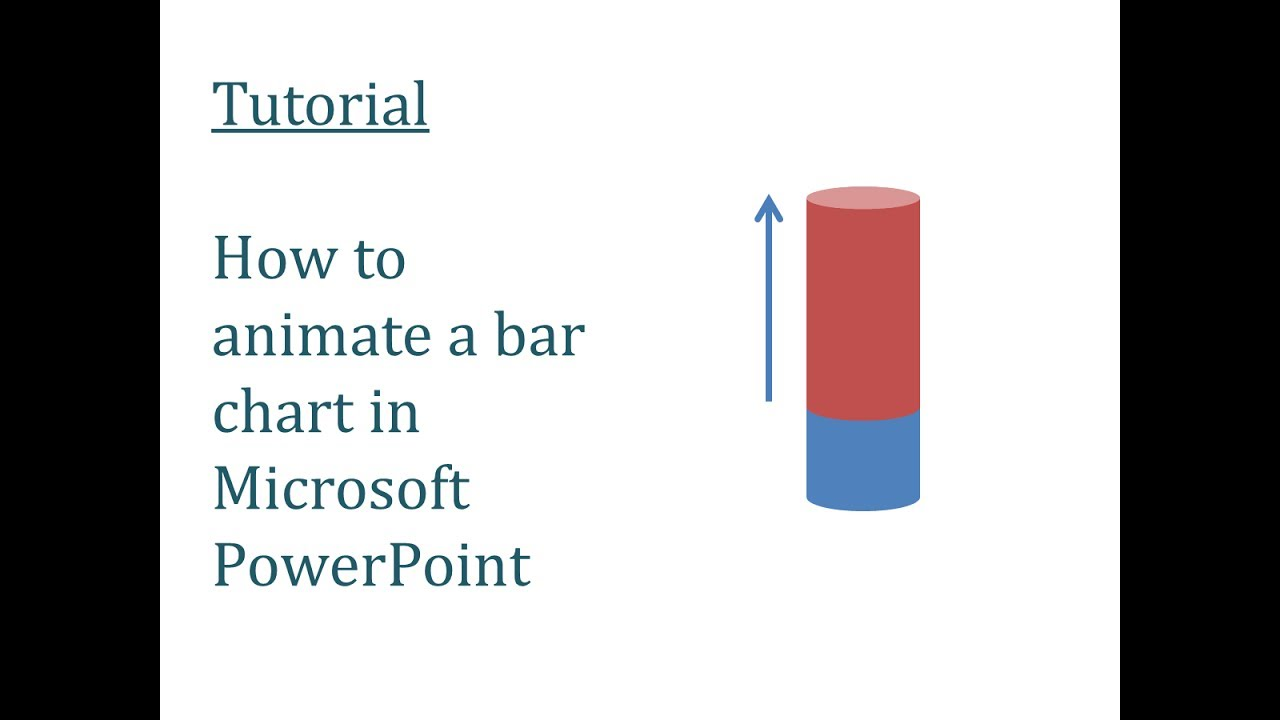 √ PowerPoint Animation Tutorial Infographic Bar Chart