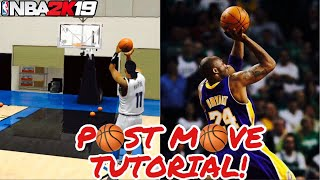 NBA 2K19 Mobile POST MOVES Tutorial!! How To Master Post Moves in 2K19 Mobile!!