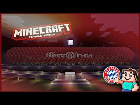 Minecraft Allianz Arena (Fc Bayern München)