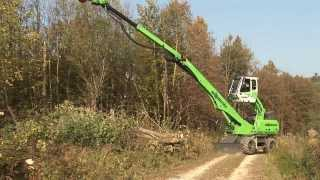 Sennebogen 718 Forestry - Energy Wood Harvesting(, 2013-10-28T16:05:51.000Z)