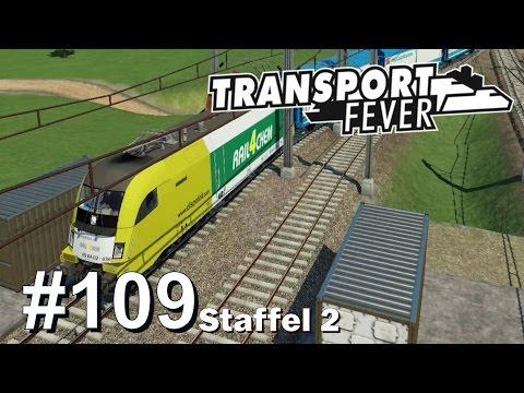 TRANSPORT FEVER S2/#109: Mit dem Zug durchs Depot durch [Let's Play][Gameplay][German][Deutsch]