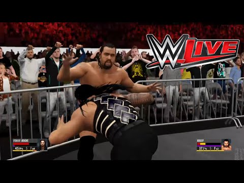 WWE live event 2016: Rusev vs. Roman Reigns- Street Fight Match for the US Title:WWE 2K16 Prediction