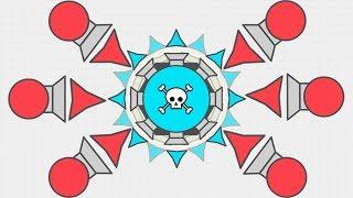 """Diep.io - """"I Am The Dominator"""" - Diep.io Trappers vs Dominator"""