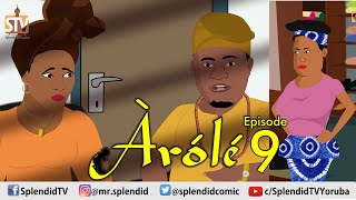 AROLE (HEIR) EP 9 - Latest Yoruba Animated Movie 2021 featuring Muyiwa Ademola, Bukunmi Oluwasina