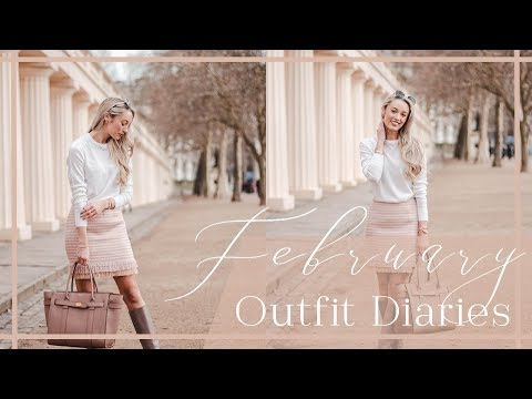FEBRUARY OUTFIT DIARIES // What I Wear to Blogger Events  //