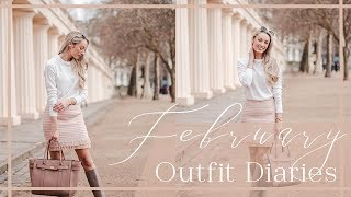 FEBRUARY OUTFIT DIARIES // What I Wear to Blogger Events  // Fashion Mumblr