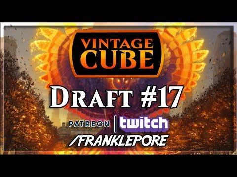 (Magic Online) Vintage Cube Draft #17 - 12/30/18